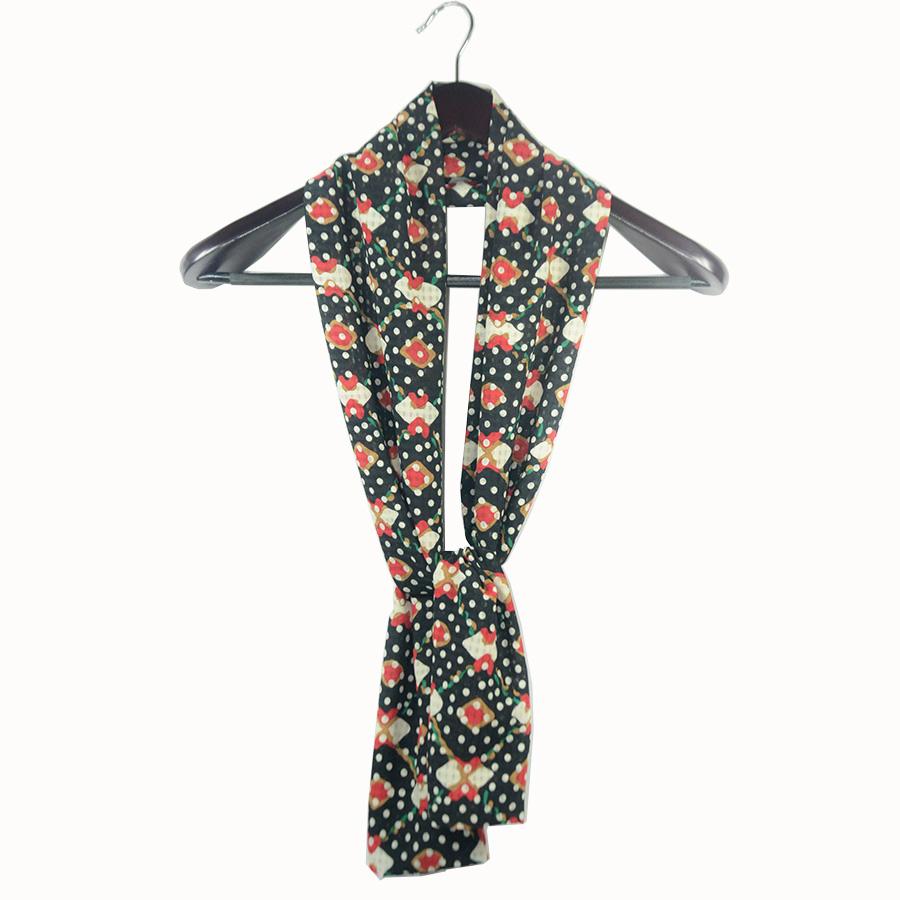 艾尤 女神必备 2014韩国新款长条形装饰丝巾百搭复古雪纺围巾韩版 49