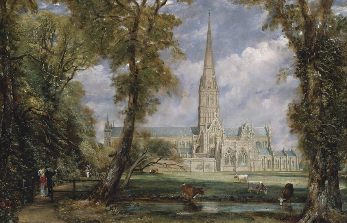 正版 英国风景画大师 西方风景画大师作品精选 色彩风景油画集画册