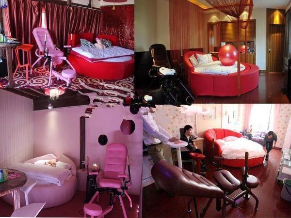 情趣用品红色椅威远椅八爪椅宾馆椅合欢椅情趣椅子酒情趣性爱爱乐酒店图片