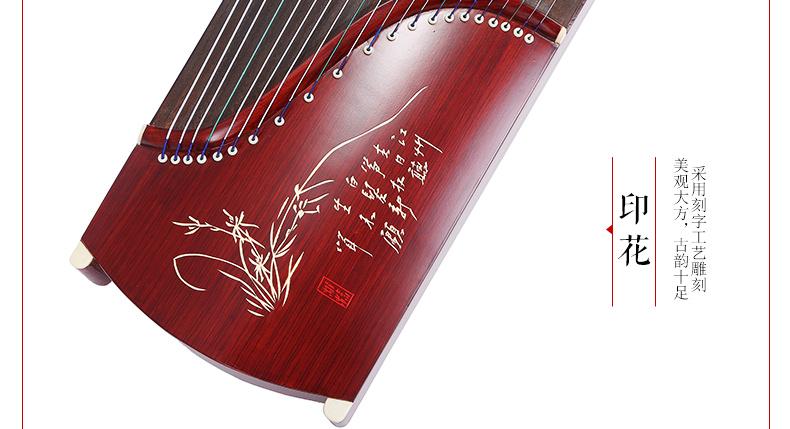 相思鸟(lovebird) 古筝 古筝紫檀花梨色 专业考级演奏