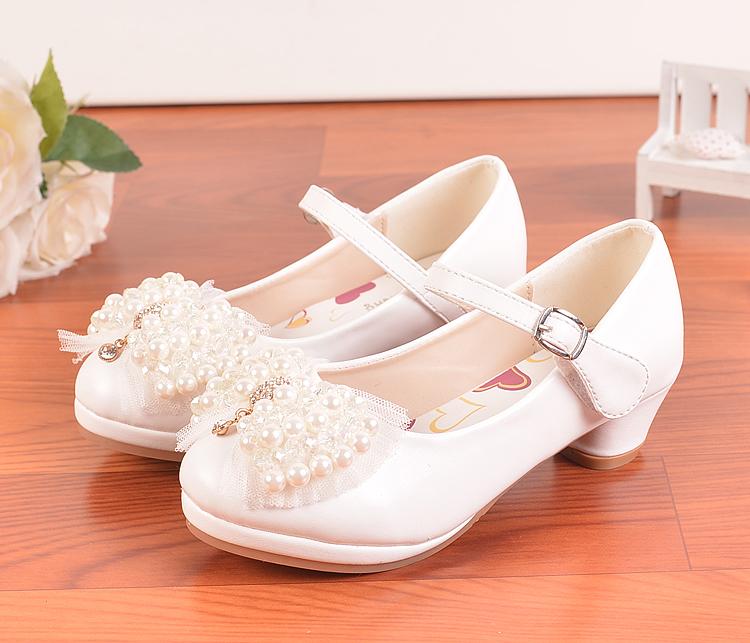 儿童皮鞋韩版女孩公