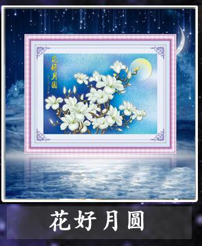 乐彩3D天鹅十字绣心心相印D1035尺寸71 42cm图片