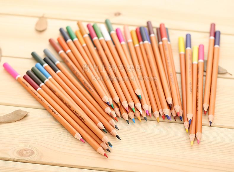 得力(deli)桶装彩色铅笔 秘密花园涂色彩铅 绘画铅笔
