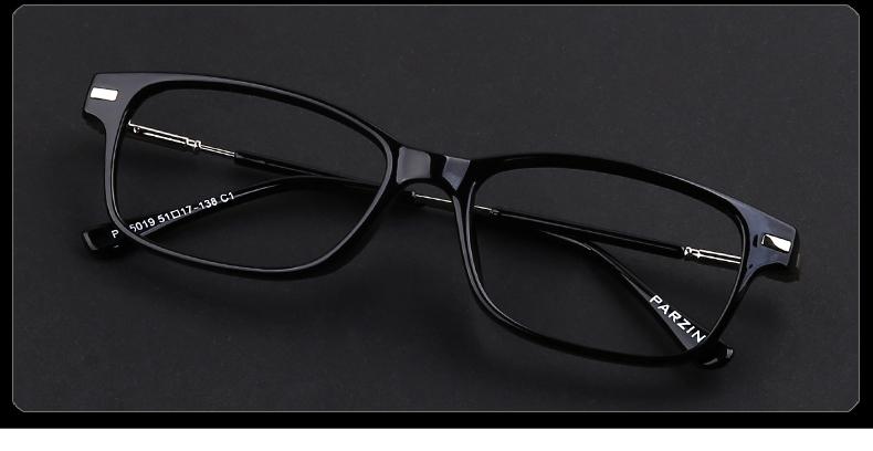 帕森(parzin)新款tr90近视眼镜框 男士近视镜 女款平光镜 时尚眼镜架图片