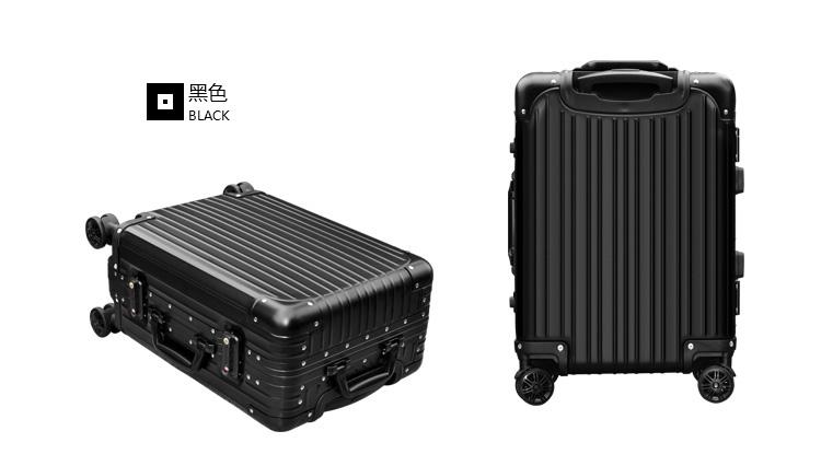 安途尔 铝拉杆箱 旅行箱 铝镁合金框拉杆箱飞机轮行李