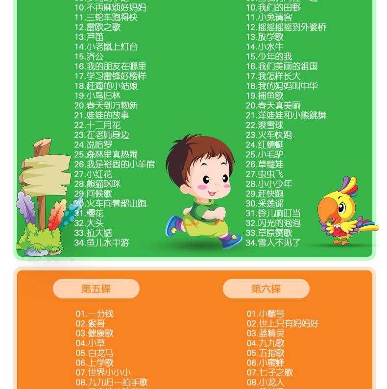 原版英文儿歌cd幼儿童宝宝英语启蒙歌曲载音乐cd早教光盘碟片