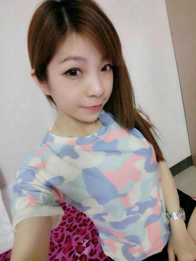 枫莲果2014夏新可爱糖果冰淇淋色渲染彩虹迷彩卷边短袖t恤f2053d20