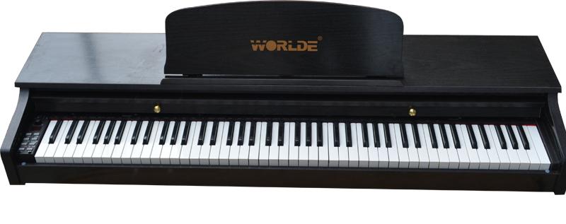 电钢琴 88键三踏板图片
