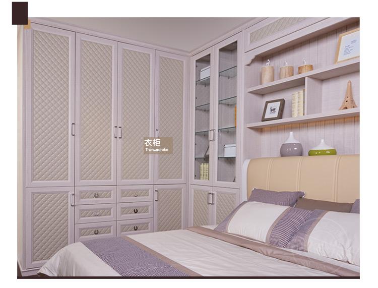 好莱客/holike 卧室家具定制衣柜 木质推拉门书桌床头柜电视柜书柜