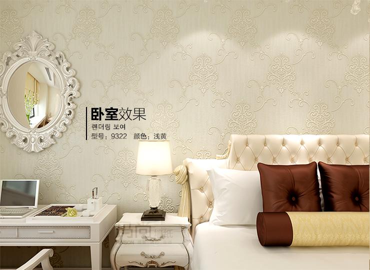 玛尚墙纸 ab硬无纺布简约欧式壁纸 卧室温馨客厅书房电视背景墙 鲑图片