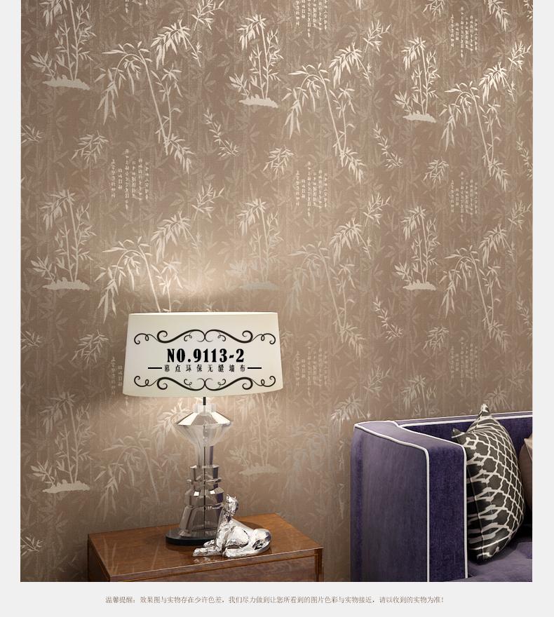 幕点无缝墙布 书房卧室推荐壁布图片
