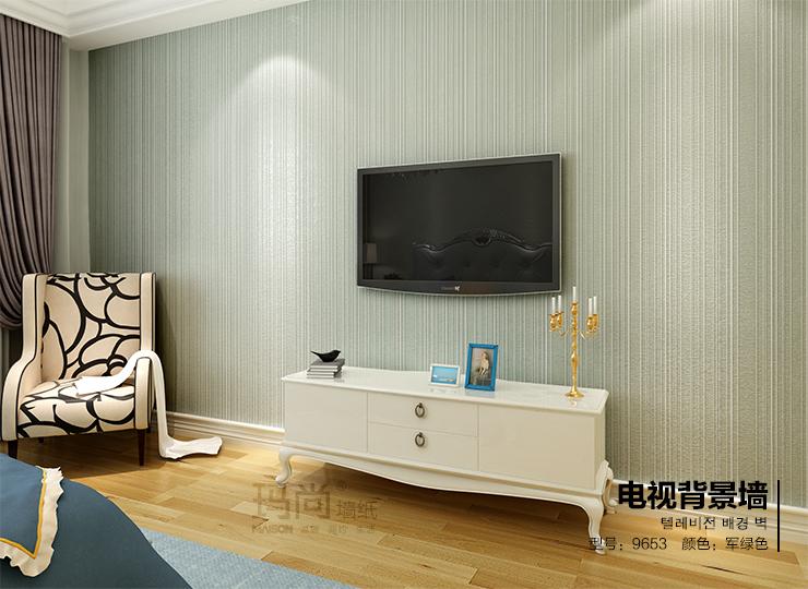 玛尚墙纸 ab硬无纺布简约欧式壁纸 卧室温馨客厅书房电视背景墙 浅图片