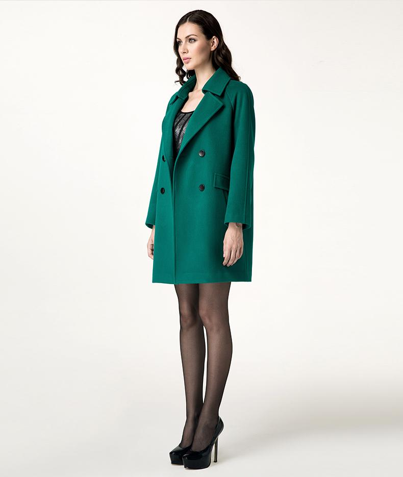 015女式羊毛大衣哪些款式流行