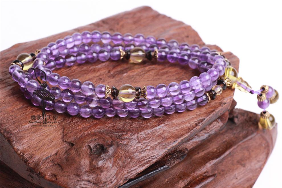 梦见紫色檀木手链