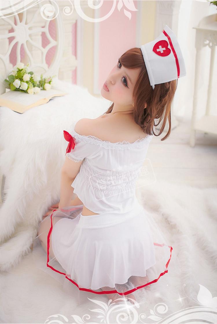 玩性情趣内衣女情趣套装诱惑制服85白色85护士源于生活白色高雅图片