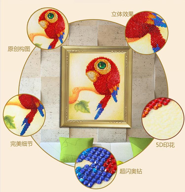 卡通十字绣零钱包动物(3)