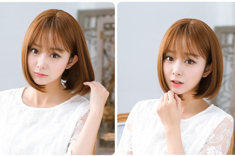 空气刘海短发发型图片 可爱时尚灵动感十足,图片尺寸:400×600,来自