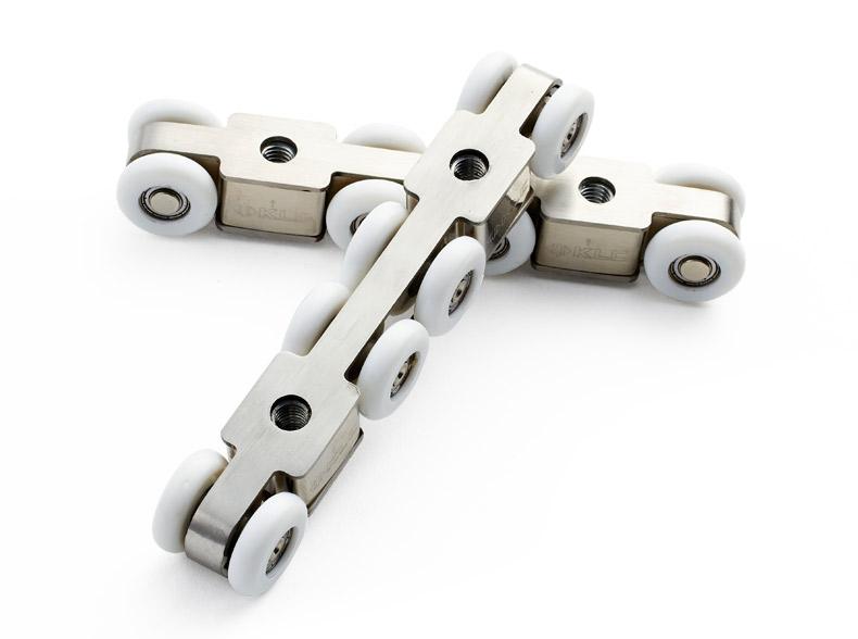 【德国klc】不锈钢木移门轨道吊轮 推拉门移门 重型滑轮 木门推拉门镁