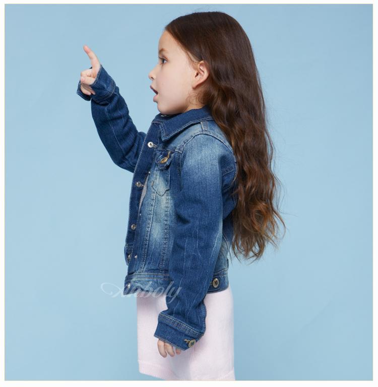 童装女童外套2014秋装新款欧美牛仔衫中大童儿童长袖休闲百搭牛仔服