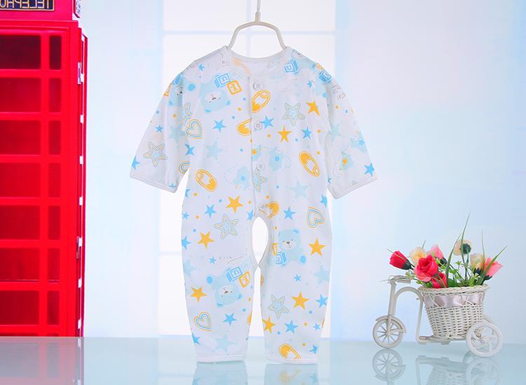 宝宝连身睡衣裁剪图解