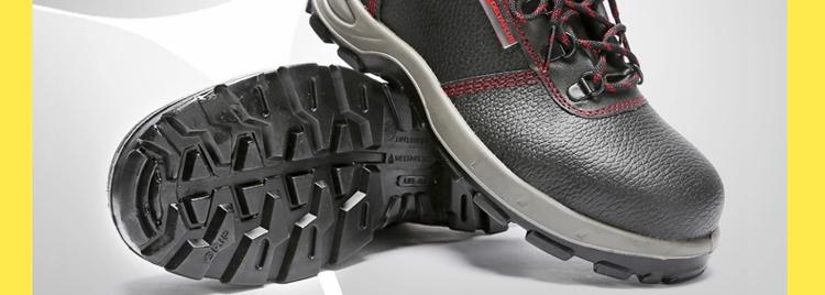 代尔塔绝缘鞋 电工鞋 工作鞋 牛皮钢包头安全鞋 劳保鞋男 女 秋冬季