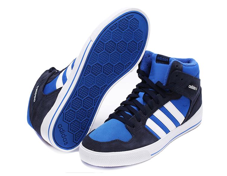 阿迪达斯neo男鞋2015新款运动高帮休闲板鞋f98385 f98386 f98368 f9图片