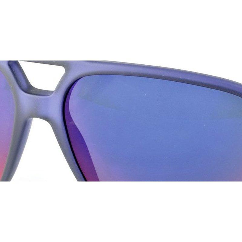 blue mirrored ray ban aviators  frame  mirrored