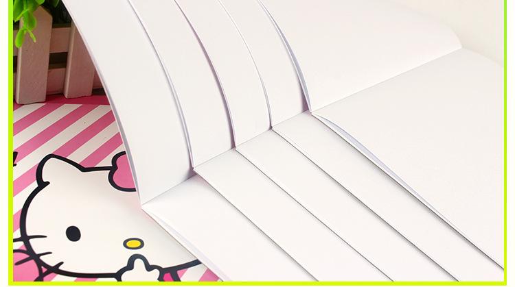 创意 儿童手绘空白超厚 a4图画本速写本绘画本涂鸦本子学生画画本