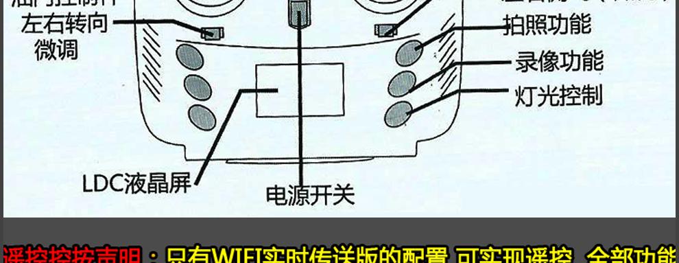 遥控飞机飞行器无人机高清航拍遥控2