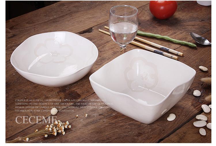 手绘碗陶瓷碗 特色餐具套装个性创意泡面碗