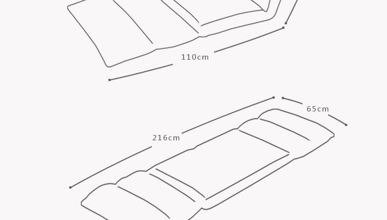 宿舍组合家具手绘图