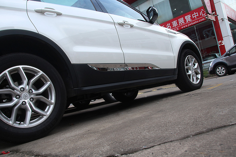 汽车装饰 车身装饰件 炫隆 炫隆 陆风x7车身装饰条 专车专用改装