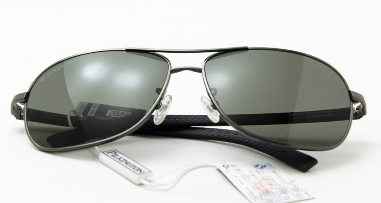 pilkington 皮尔金顿 墨镜男款玻璃偏光太阳镜纯钛户外开车驾驶蛤蟆镜