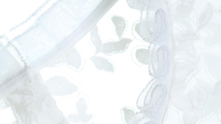 five plus新女秋装纯色拼接提花花边立领宽松衬衫2yl3012190 米白010
