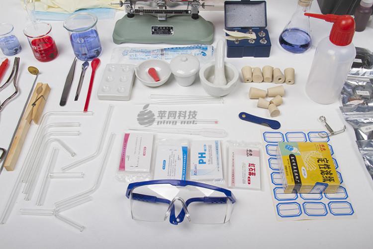 初中高中化学探究器材 家庭试验室 教具化学实验箱标配版