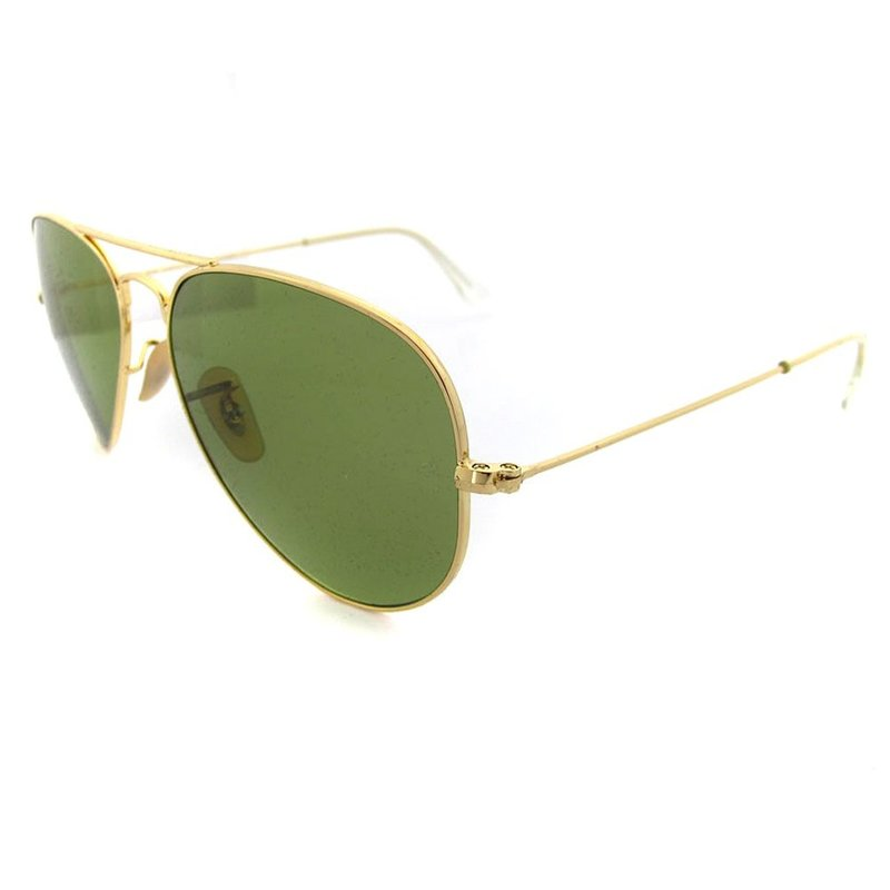 aviator ray ban polarized  aviator 3025 001/p1 shiny
