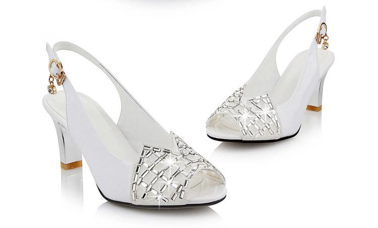 忆思美 新款女鞋凉鞋女高跟细跟欧美女鞋