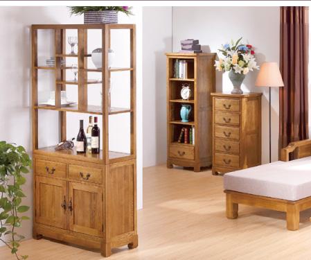 实木隔断柜双面 美式简易玄关柜隔断门厅柜欧式超薄