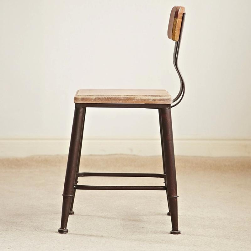 现代时尚简约欧式象牙白色实木餐椅子as
