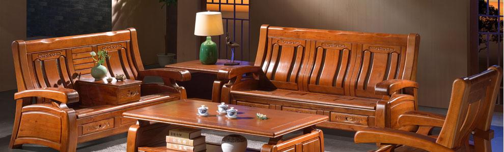 香樟木储物沙发 中式仿古实木沙发组合 明清古典樟木家具带茶水柜 1 2