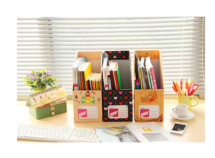 创意卡通办公杂志桌面收纳盒