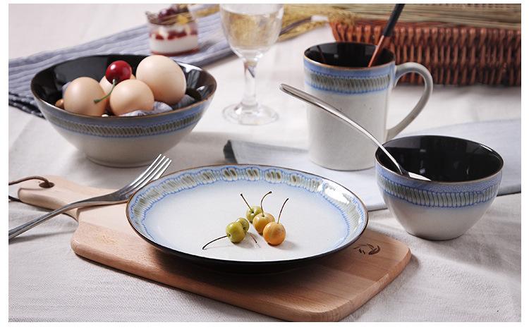 手绘瓷器餐具套装特色创意西式