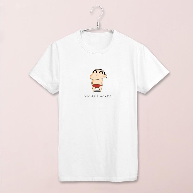 蜡笔小新女t恤