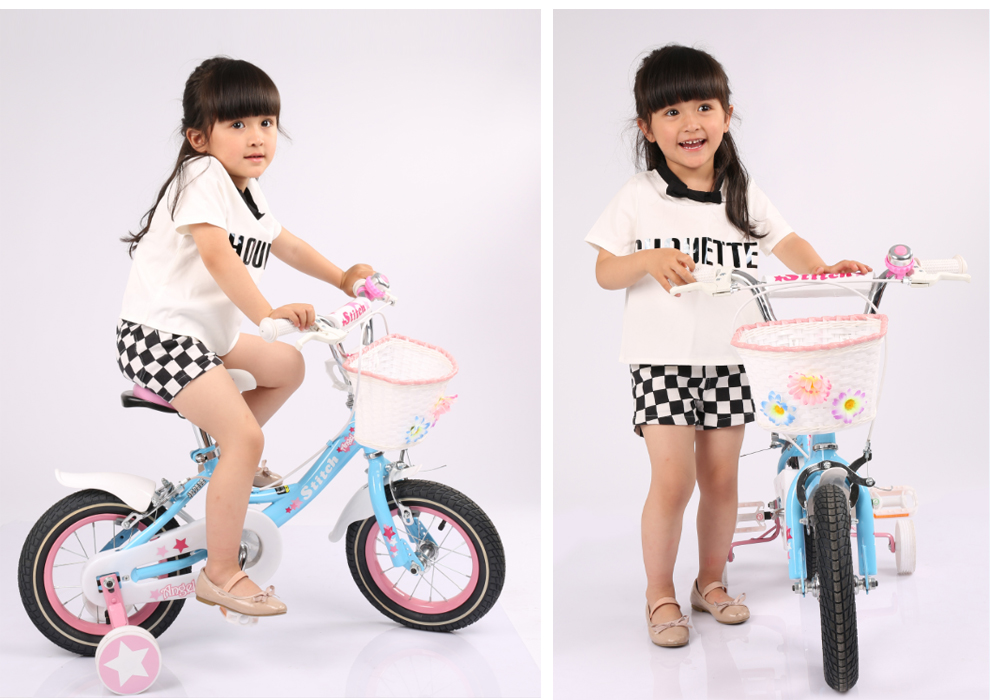 00 祺娃娃 英国女孩 儿童自行车 12寸14寸16寸18寸女童车小孩单车