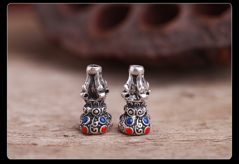The gold and silver ancient Tibetan-mt ringing law tee stupa DIY bead accessories with possession of silver accessories retro every large beads) (13*24mm) a picture, prices, brand platters! The elections are supplied in the national character of distribution, so action, buy now enjoy more preferential! As soon as possible.