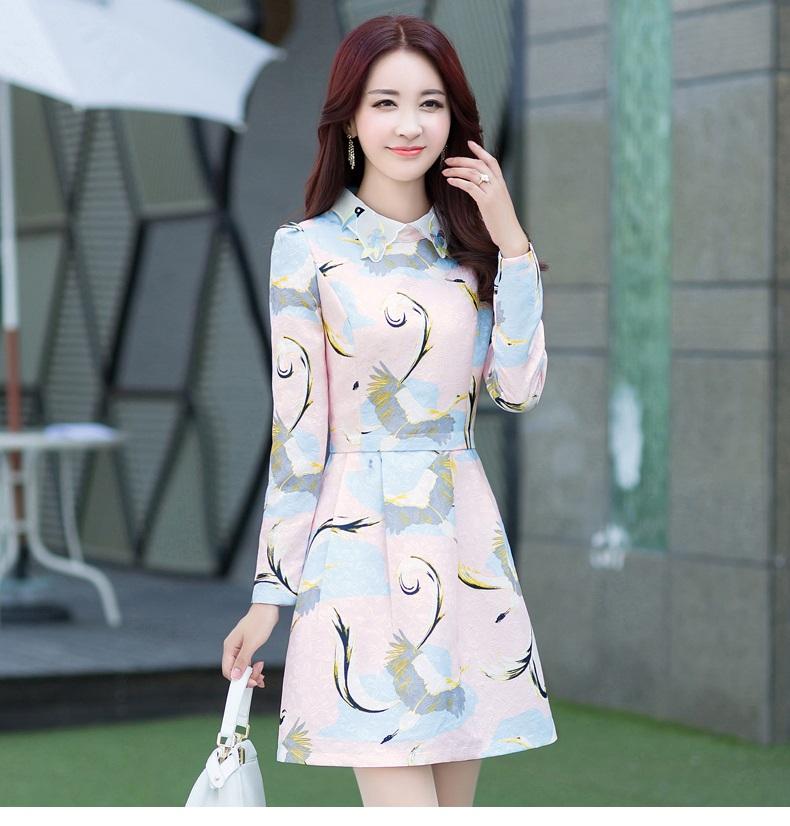 连衣裙韩版中长款韩版