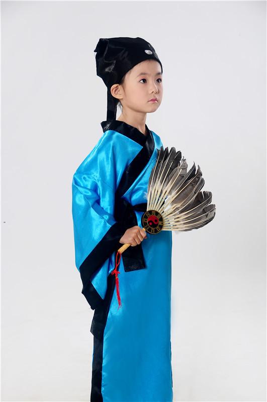 童古装摄影服装古代书生
