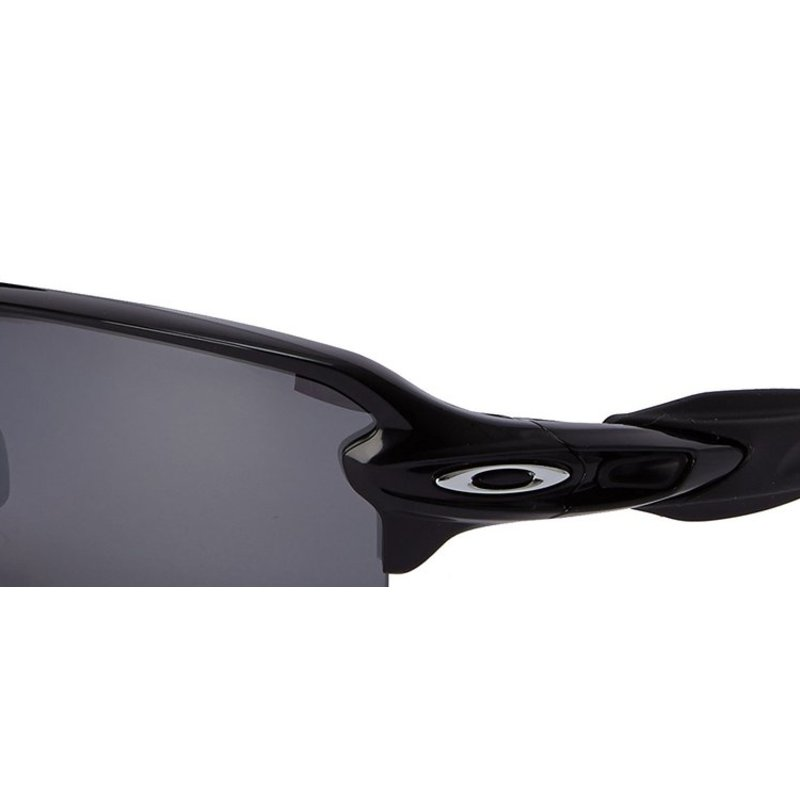 oakley flak jacket black iridium polarized  oakley