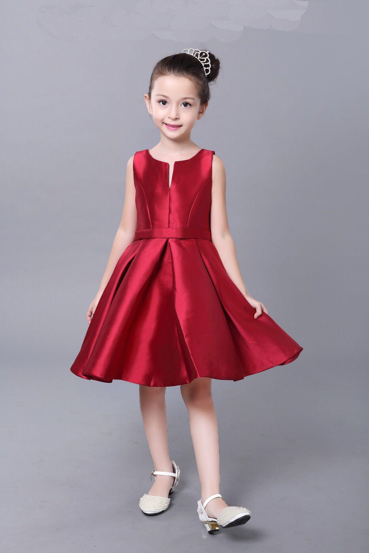 2016春夏欧美高档儿童礼服女童连衣裙公主蓬蓬裙童装厂家一件代发fz23