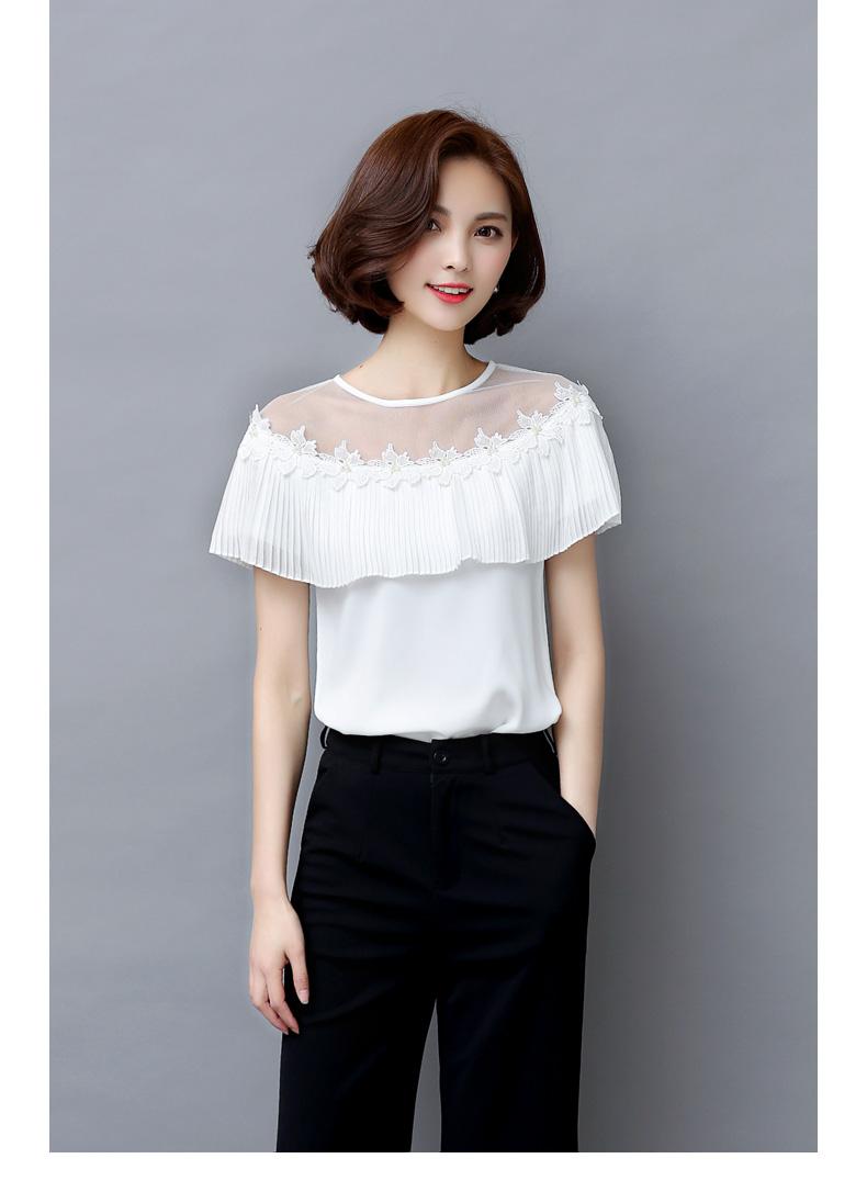 假两件短袖衫女韩版